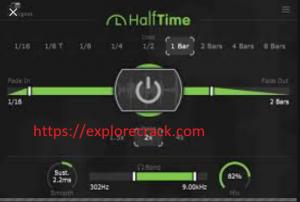 Halftime 1.1.2 Vst Crack Mac With Activation Key Free Download 2021