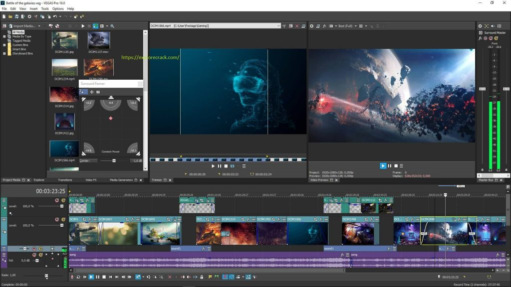 Sony Vegas Pro 18.0.485 Crack + Keygen Free Download {Win/Mac} 2021