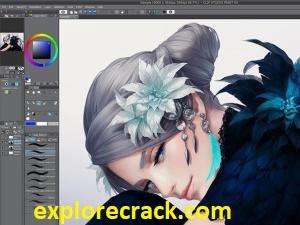 Clip Studio Paint 1.10.6 Crack + License Key & Torrent 2021 [EX + Pro]