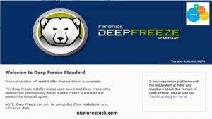 Deep Freeze Standard 8.63.0 Crack + License Key Free Download [2021]