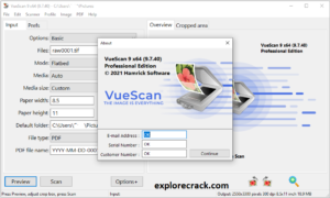 VueScan Pro 9.7.52 Crack With Activation Code Full Edition 2021