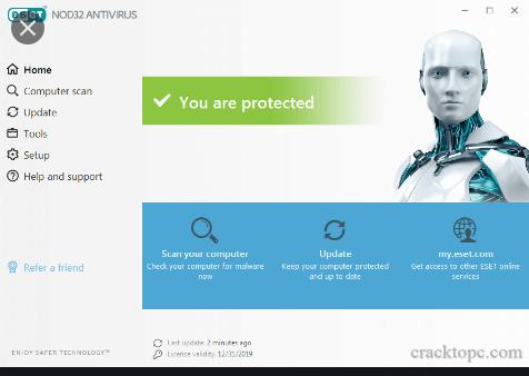 ESET NOD32 Antivirus 14.2.10.0 Crack + Keygen Free Download 2021